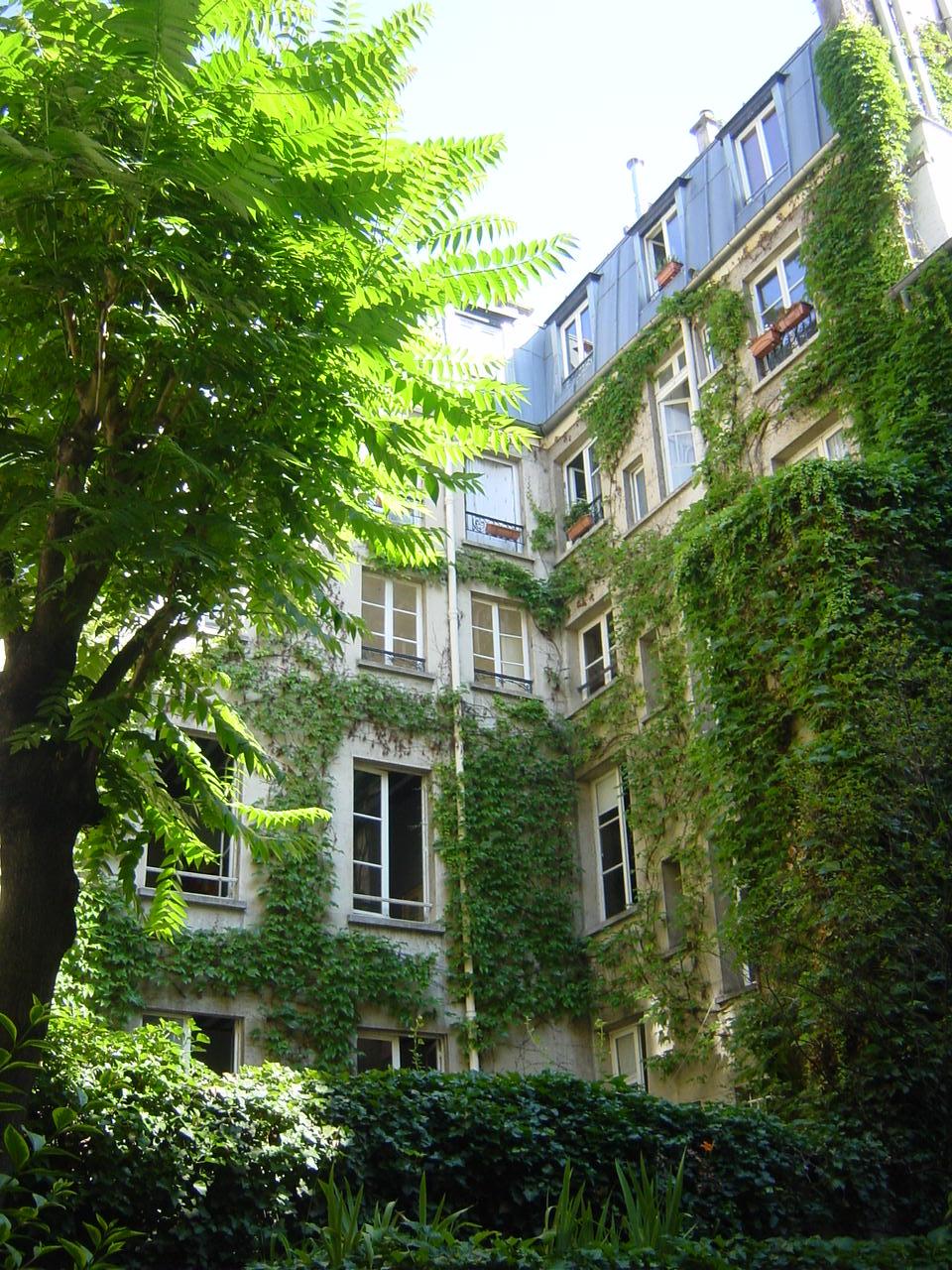 Visite guid e de l 39 le saint louis paris for Visite de jardins de particuliers